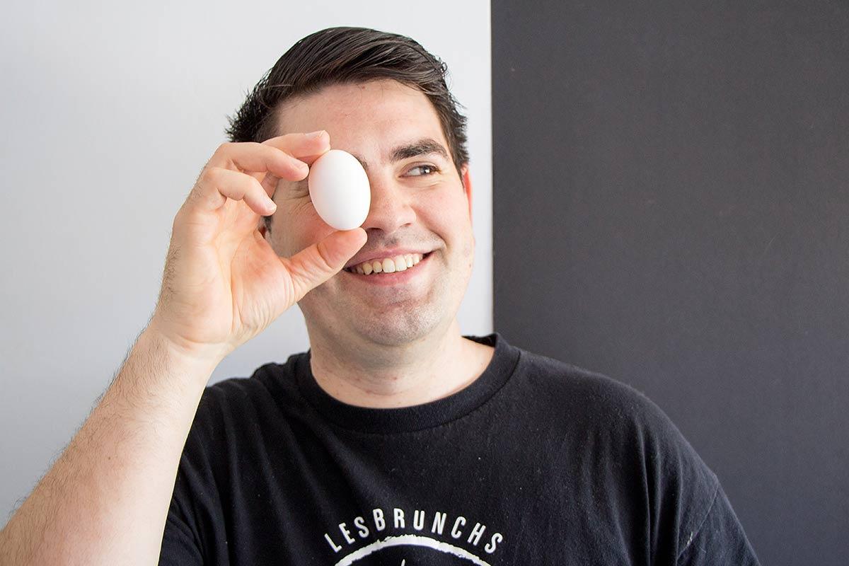 Mathieu Groussard chef et fondateur aux brunchs de mathieu