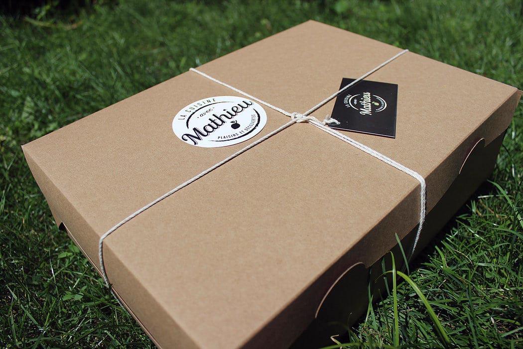 boite écolo recyclable pour livraison