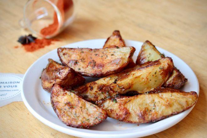 Pommes de terre rôties aux épices douces