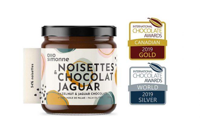 Excellente tartinade au chocolat Jaguar et noisettes