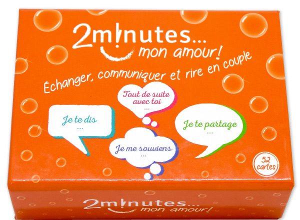 Jeu pour amoureux Deux minutes, mon amour! ©